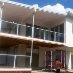House in Brookwater With Sponge Finish